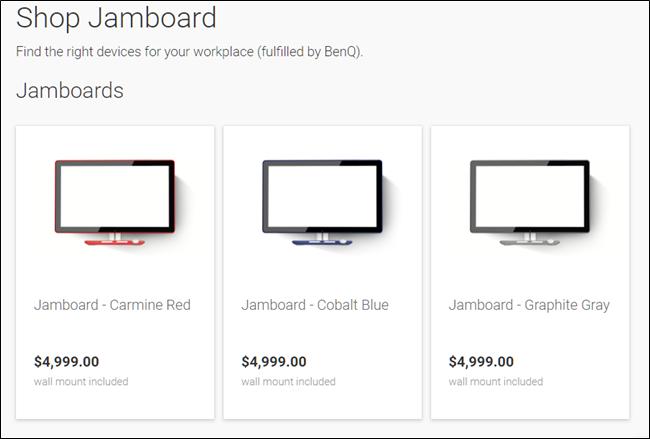 Achetez Jamboard.
