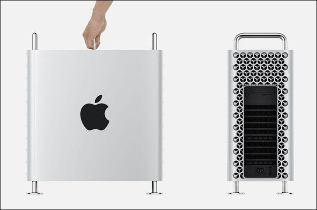 """La pomme 2019 """"Râpe à fromage"""" Mac Pro."""