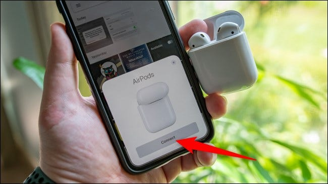 AirPods Apple iPhone Connect