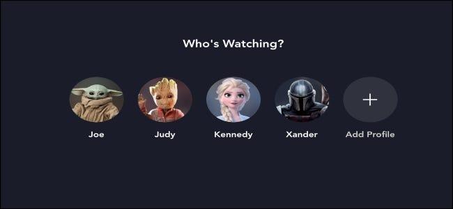 Disney + qui regarde