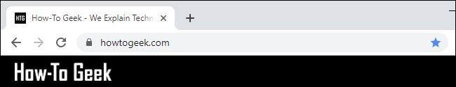 L'omnibox de Chrome cache https: // et www.