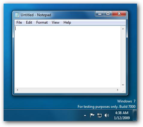 Windows 7 Envoyer des commentaires supprimé