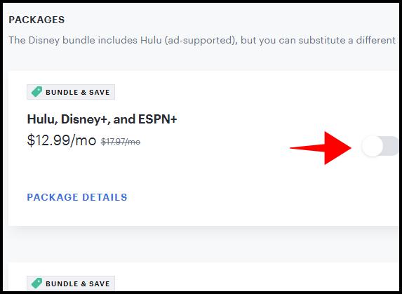 Forfait Hulu Select