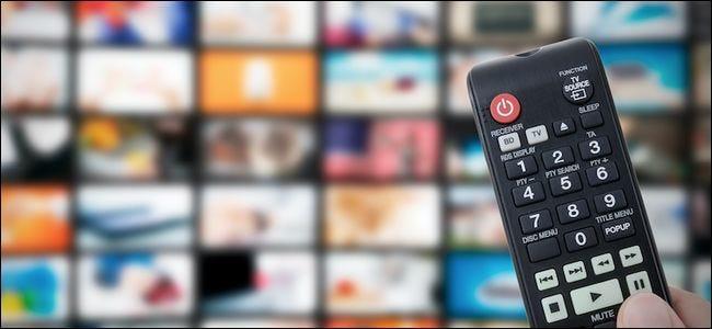 Chaînes de télévision et télécommande