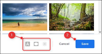 """Ajustez les options de thème (si disponibles), puis cliquez ou appuyez sur """"Sauvegarder."""""""