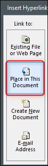 place dans ce document