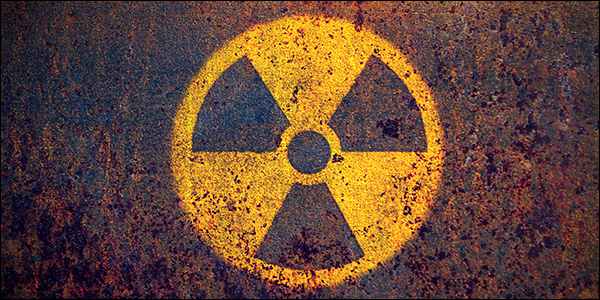 symbole de rayonnement ionisé dangereux