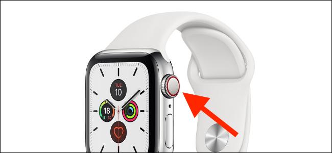 Anneau ou point rouge cellulaire Apple Watch
