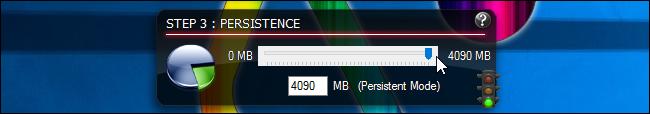Attribution d'un stockage persistant dans Linux Live USB Creator