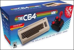 Boîte de vente au détail TheC64 Mini
