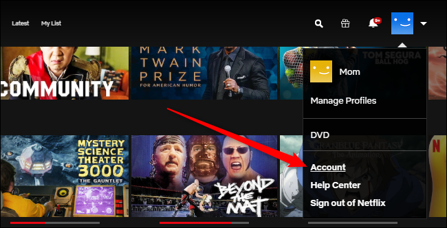 Compte Netflix