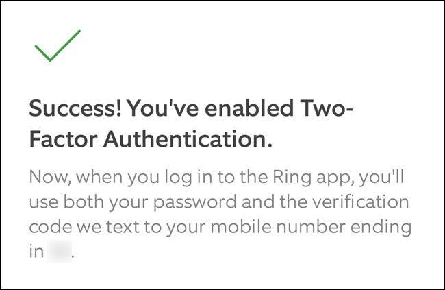App Ring Cliquez sur le bouton Continuer pour quitter le processus de configuration