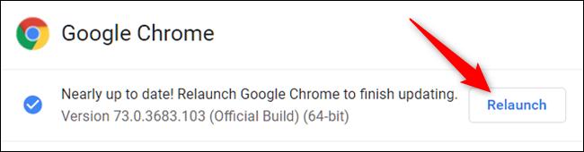 Mettre à jour Google Chrome