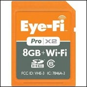 Image d'une carte d'extension Wi-Fi de 8 Go.