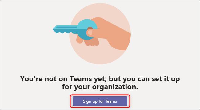 Inscription des équipes
