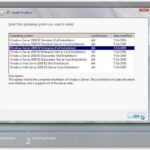 Comment installer Windows Server 2008 R2
