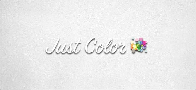 Logo juste en couleur