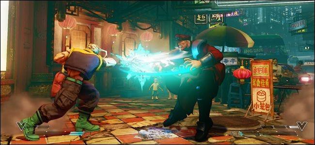Les jeux multijoueurs rapides comme Street Fighter bénéficient de temps de réponse faibles.