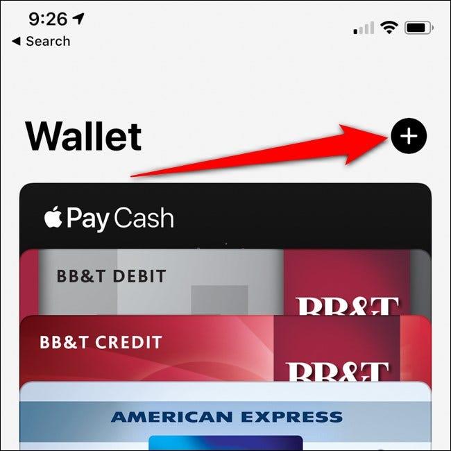 Bouton Ajouter une carte pour iPhone Apple Wallet