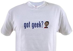 eu geek?  la chemise