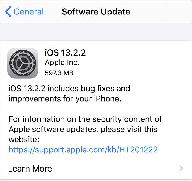 Installez les mises à jour iOS pour protéger votre iPhone