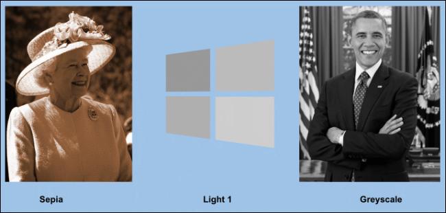 Un exemple d'images recolorées dans Google Slides