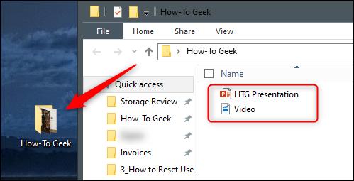 Ajouter un fichier Ppt et vidéo au dossier