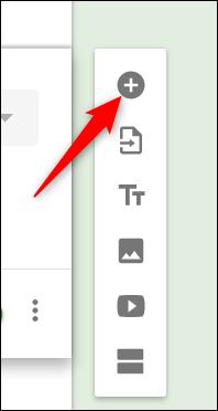 Cliquez sur le signe plus (+) pour ajouter plus de champs
