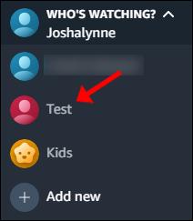 Cliquez sur le nouveau compte pour y accéder.