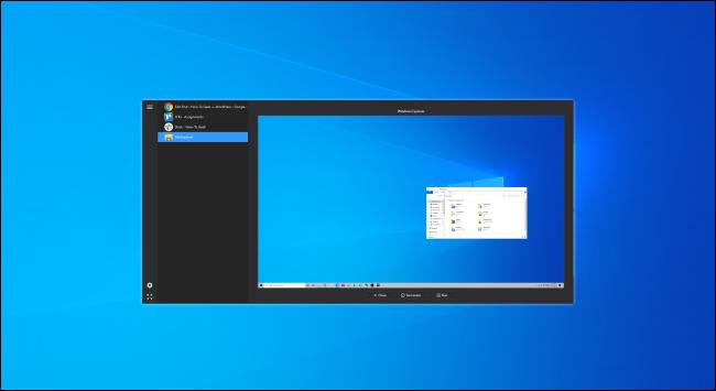 Alt + Tab Terminator sous Windows 10.