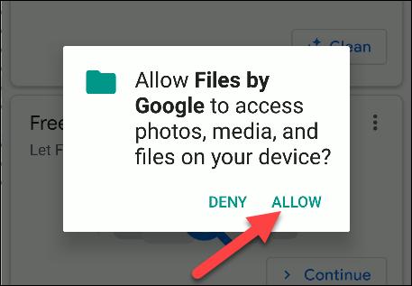 fichiers par autorisations google