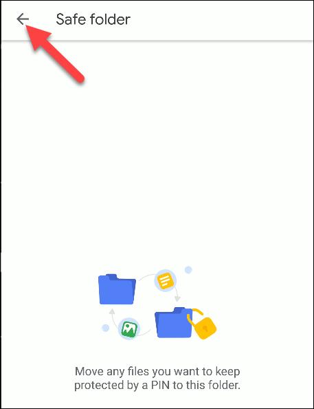 fichiers par google safe folder