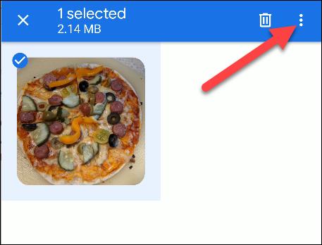 fichiers par menu google