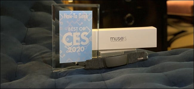 Muse S avec How-To Geek Award