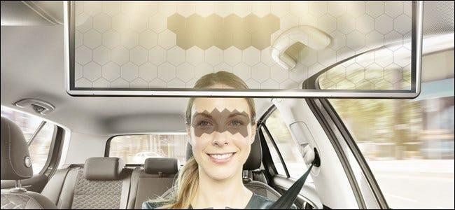 Visière virtuelle Bosch