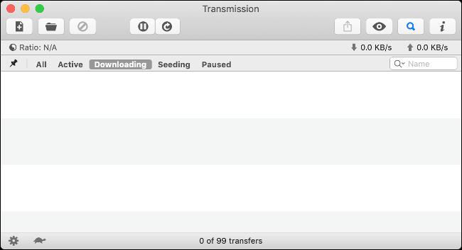 Transmission pour Mac