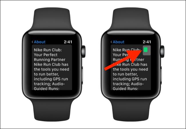 Naviguer en mode zoom sur Apple Watch