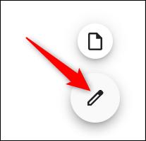 Cliquez sur l'icône en forme de crayon noir.