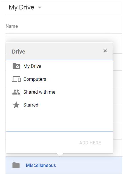 Sélectionnez un fichier et appuyez sur Maj + Z pour ouvrir ce menu contextuel.