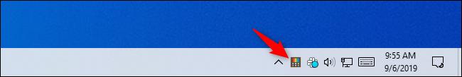 Lancement de PowerToys depuis la zone de notification