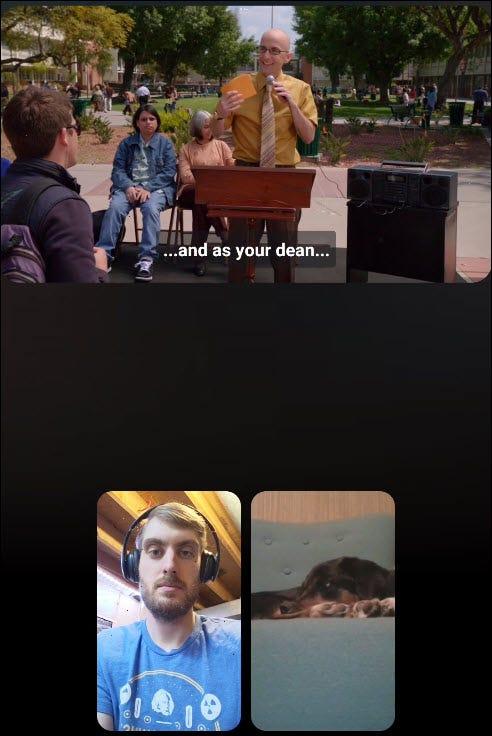 regarder une vidéo