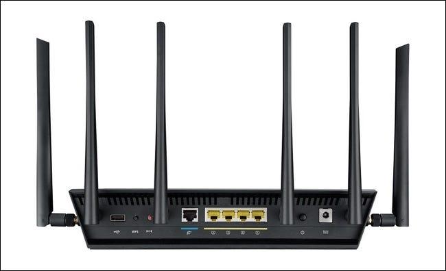 six antennes pour trois réseaux