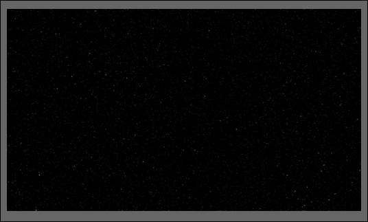 ciel nocturne noir avec des étoiles