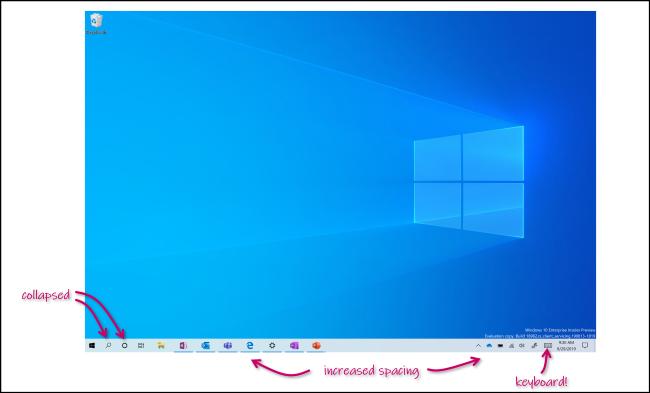 Le nouveau mode tablette de Windows 10