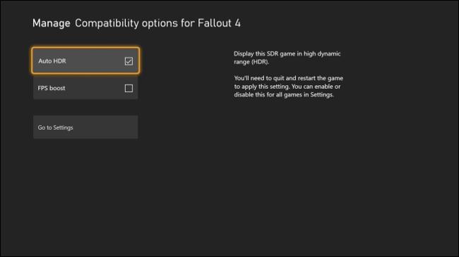 Activer FPS Boost sur Xbox via le menu Gérer le jeu et les modules complémentaires