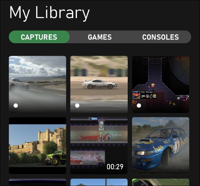 Bibliothèque de capture Xbox