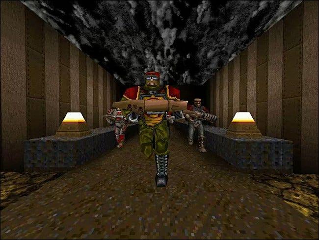 Le mod Team Fortress pour Quake a inventé un nouveau genre multijoueur.