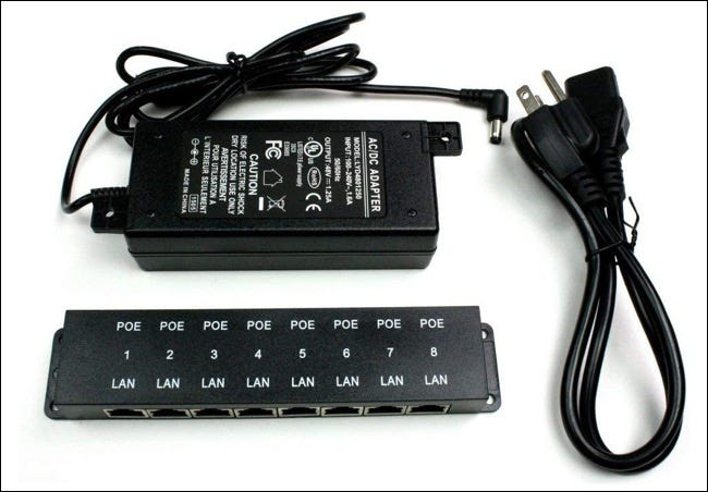 Un injecteur Power over Ethernet.