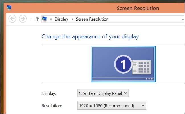 résolution d'écran