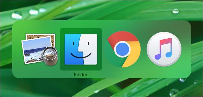 Basculer entre les applications ouvertes sur Mac avec Commande + Tab
